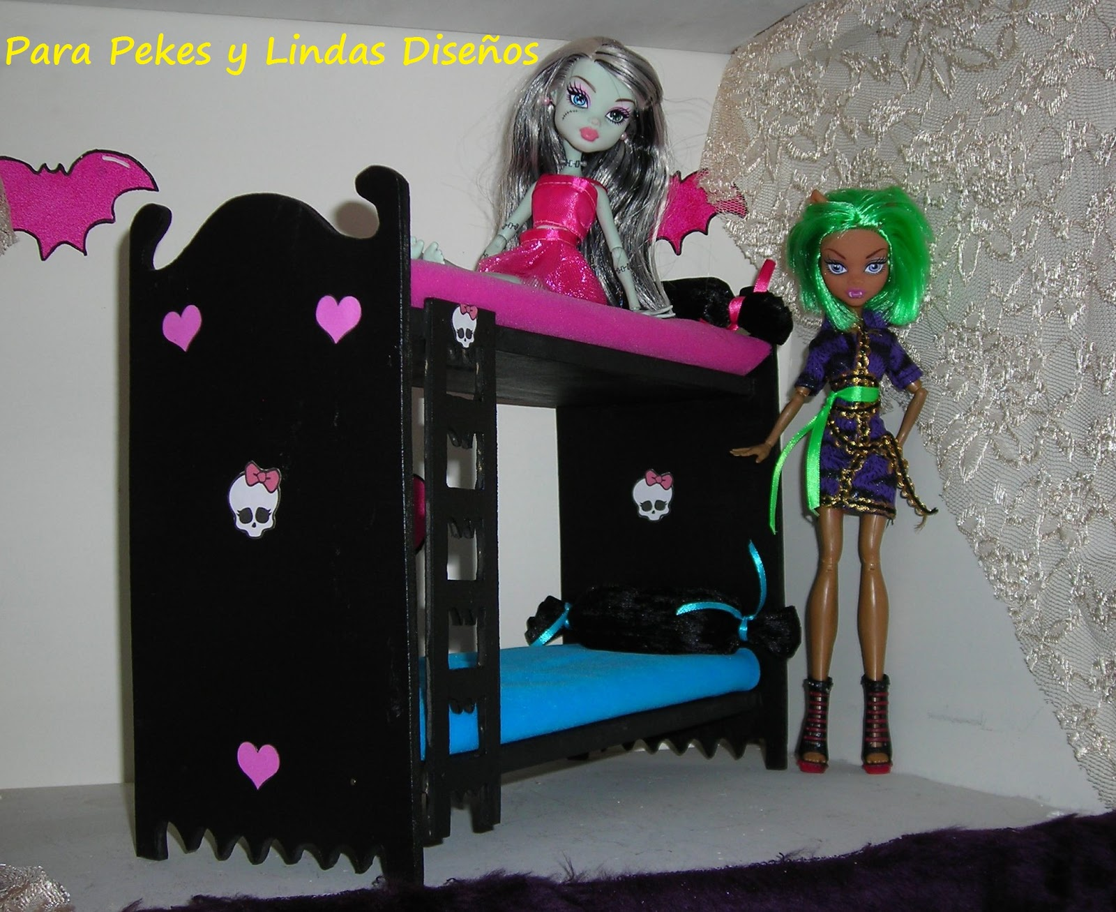 para pekes lindas muebles monster high
