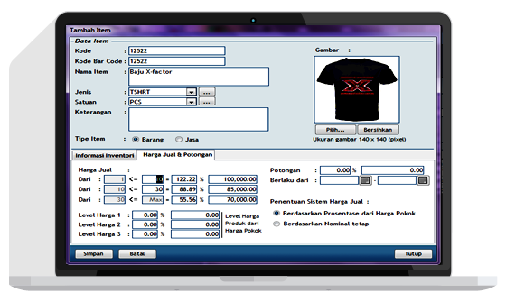 mesin kasir toko baju butik,software toko baju butik,program toko baju butik