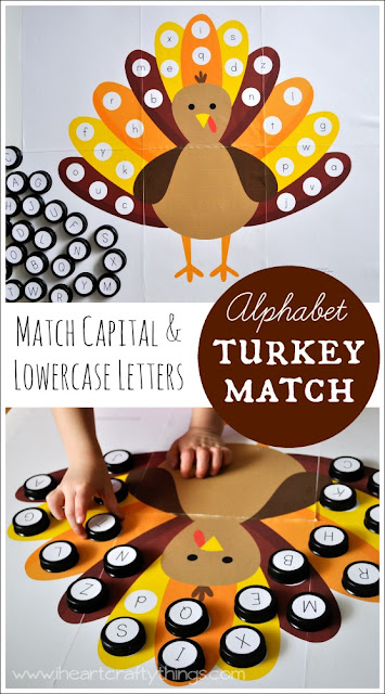 Alphabet Turkey Match