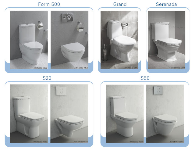 VitrA предлагает следующие модели унитазов с бидеткой
