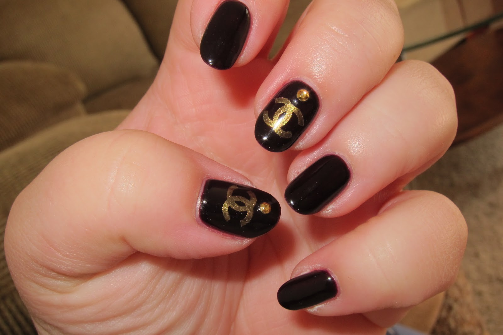 Nail Art World Gallery Of Nail Design Chanel Design Nails