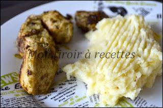 poulet mijoté pesto