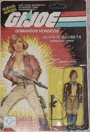 Sparta, Plastirama, Argentina, Agente Secreta, Cover Girl, MOC, Carded