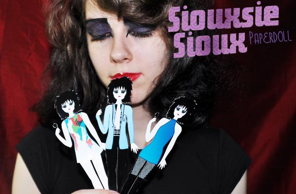 Siouxsie Sioux News Siouxsie Sioux Paperdoll