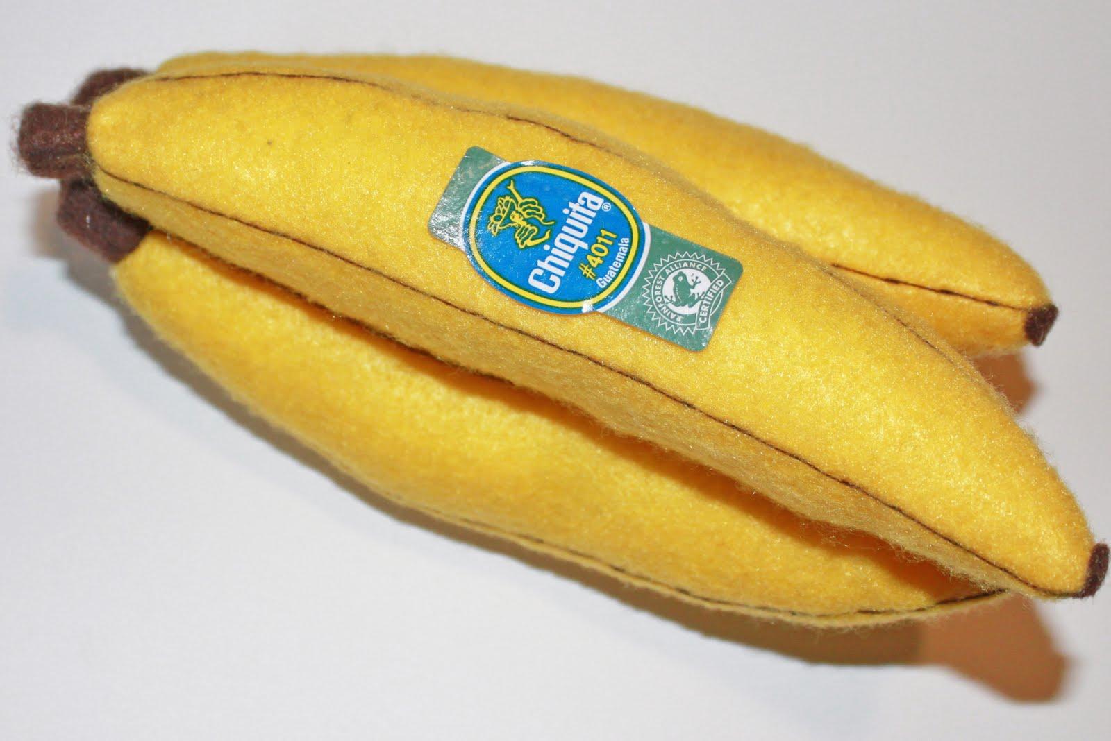 Из чего сделать бананы своими руками