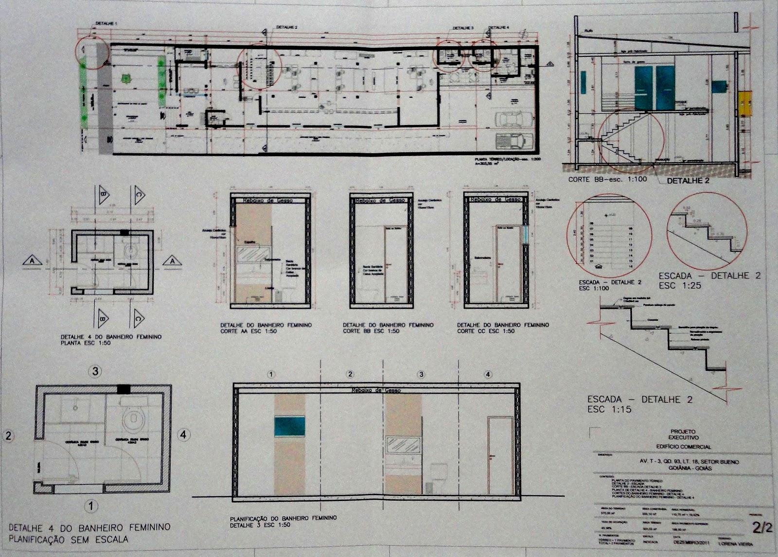 Urbanismo: Projeto Executivo de uma Arquitetura Comercial #404F5A 1600 1145
