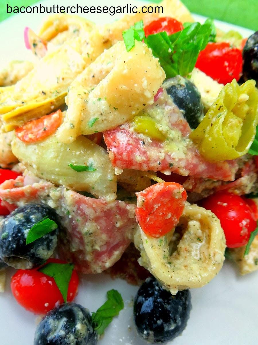 Tortellini Salad with Greek Dressing