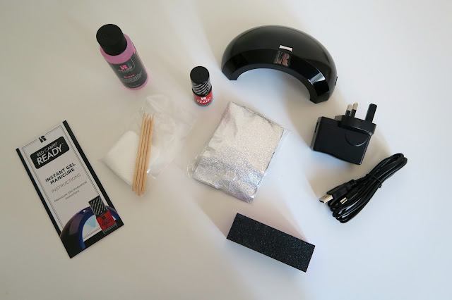 Red Carpet Ready: At home Gel nail kit by What Laura did Next