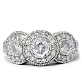 diamond rings vintage