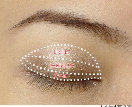 In applying eye shadow  Blending is key so here are some instructions    Eyeshadow Tutorial For Brown Eyes