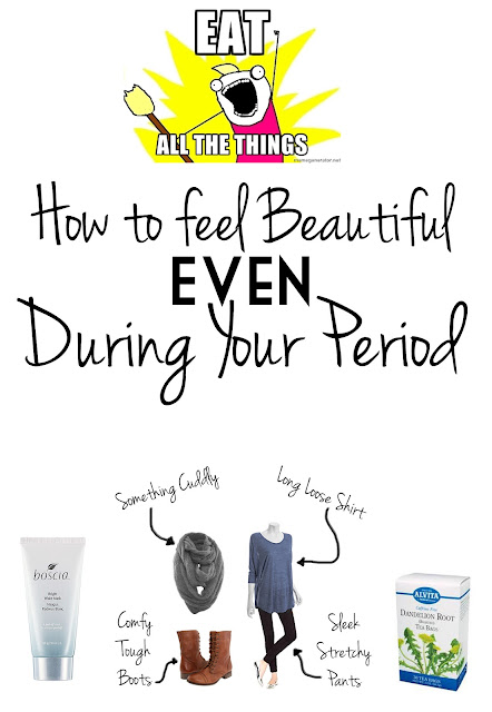 how to get rid of bloated feeling during period