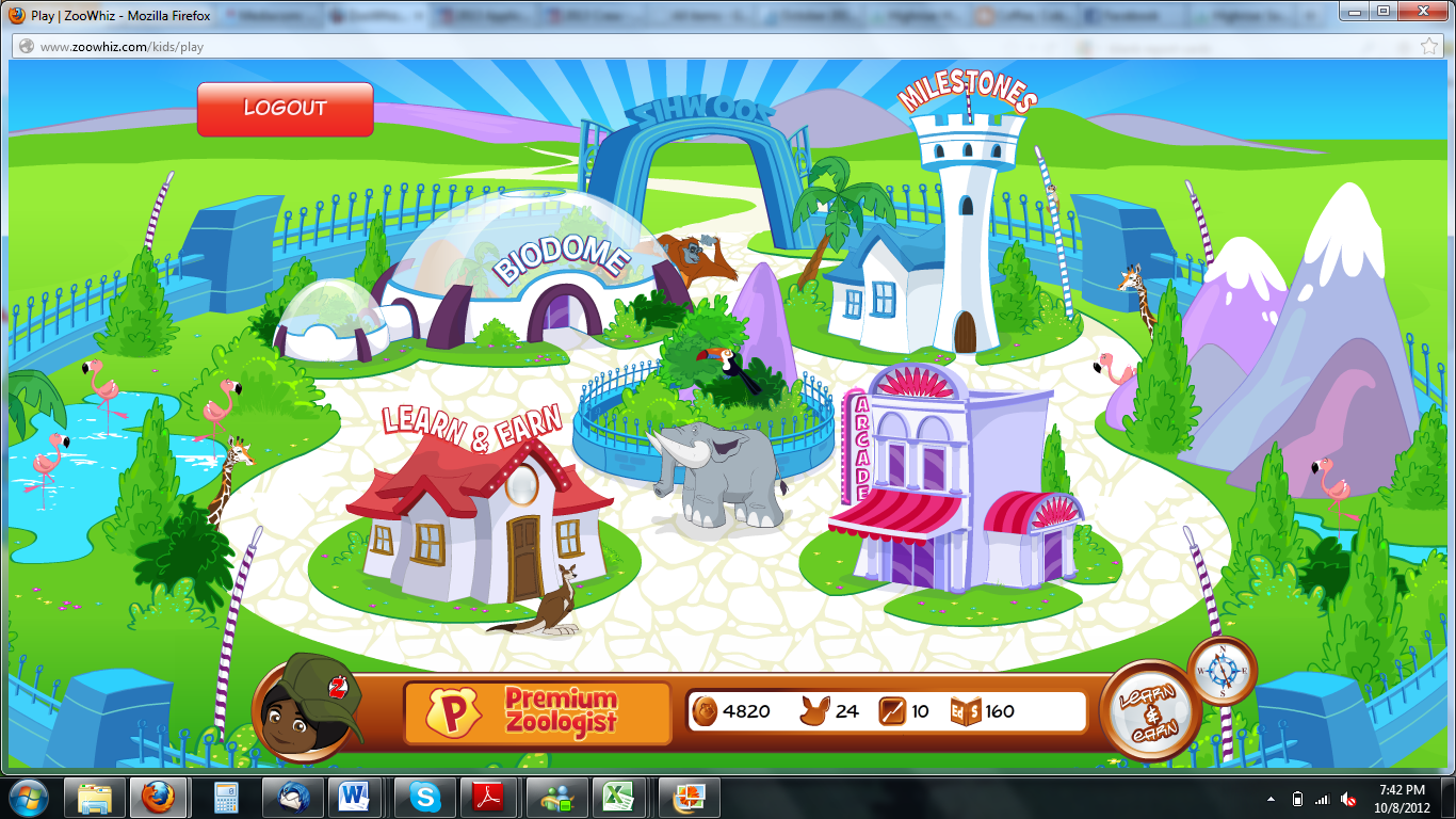 Coffee, Cobwebs, and Curriculum: ZooWhiz (Review)
