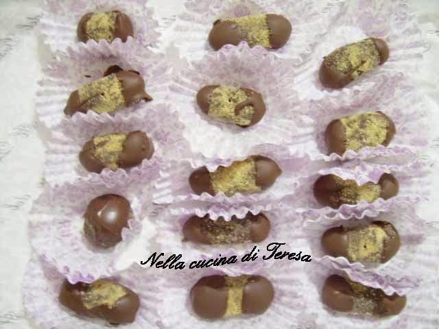 Nella cucina di teresa cioccolatini biscotti e nocciole - Nella cucina di teresa ...