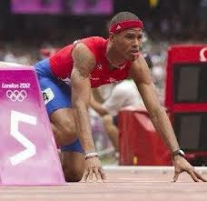Photo-a-Day August Challenge, Javier Culson, Puerto Rico, Bronze, Olympian, 2012, hurdles, 400m