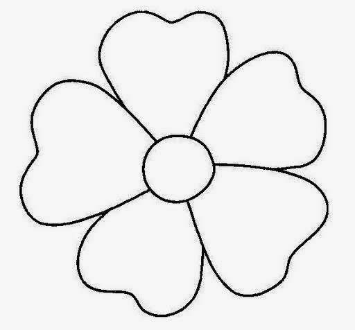 Dibujos Para Colorear Maestra De Infantil Y Primaria Flores Para