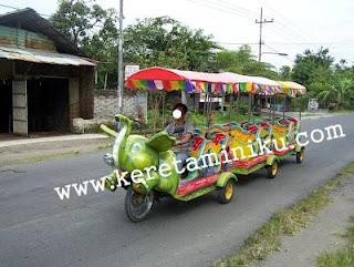 Kereta Mini Sepeda Motor Loco Gajah