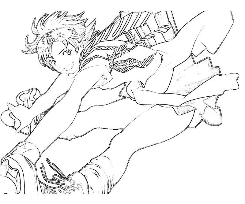 printable-air-gear-mikan-noyamano-character-coloring-pages