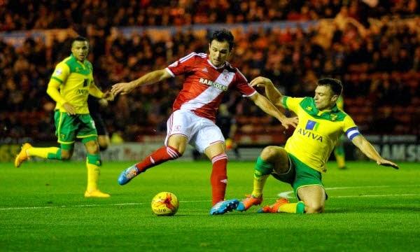 Tip kèo cá cược Norwich vs Middlesbrough