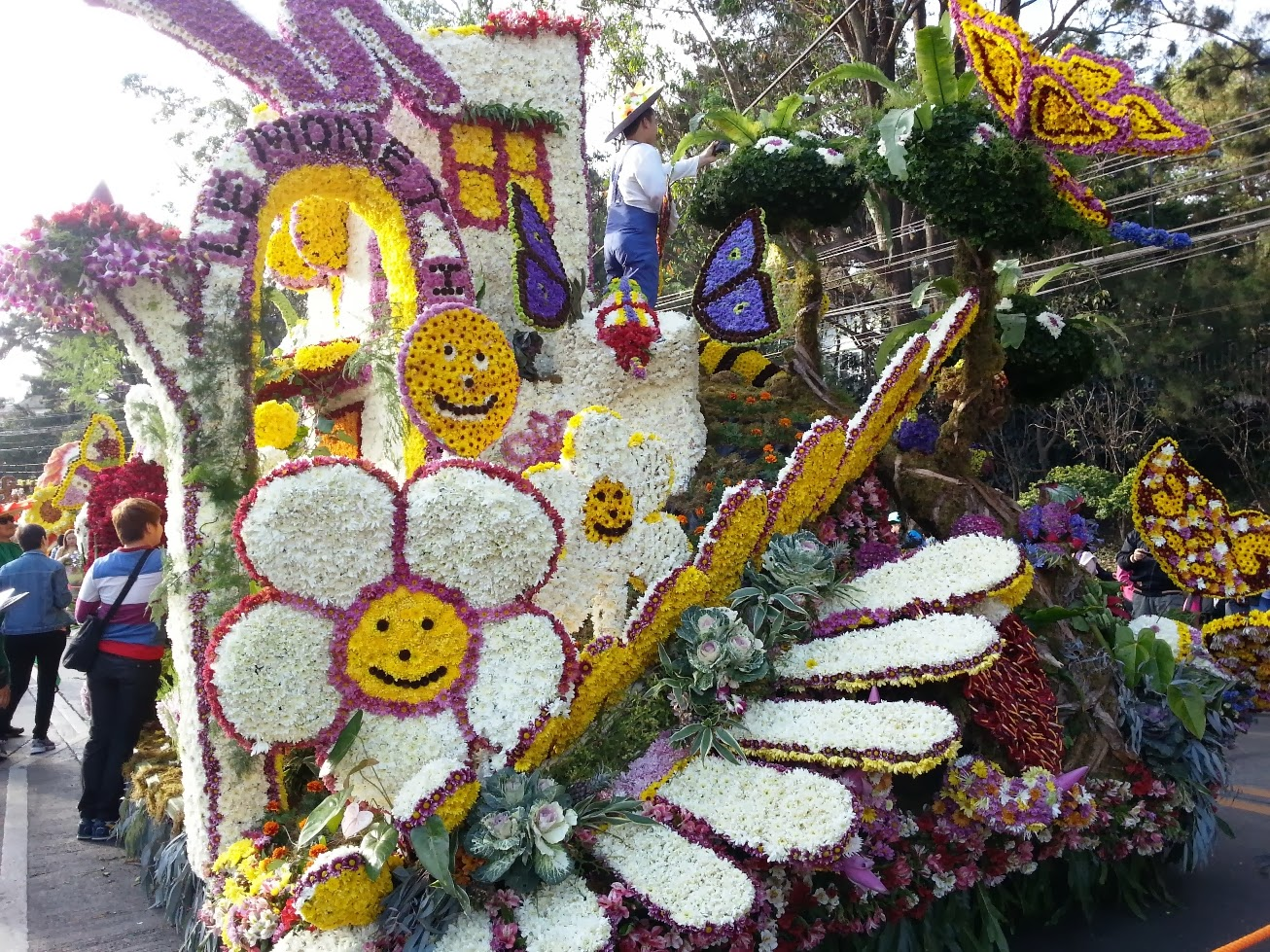 Baguio Flower Festival Grand Float Parade 2014
