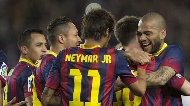 Barcelona 4-1 Almeria 2014