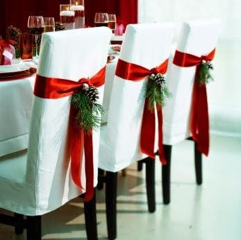 Διακοσμούμε τις καρέκλες μας για τις γιορτινές ημέρες!