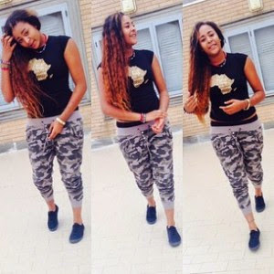 She Carry Back & Front! Patorankings Girlfriend Share Hot Pictures On Her Instargram (See Photos)