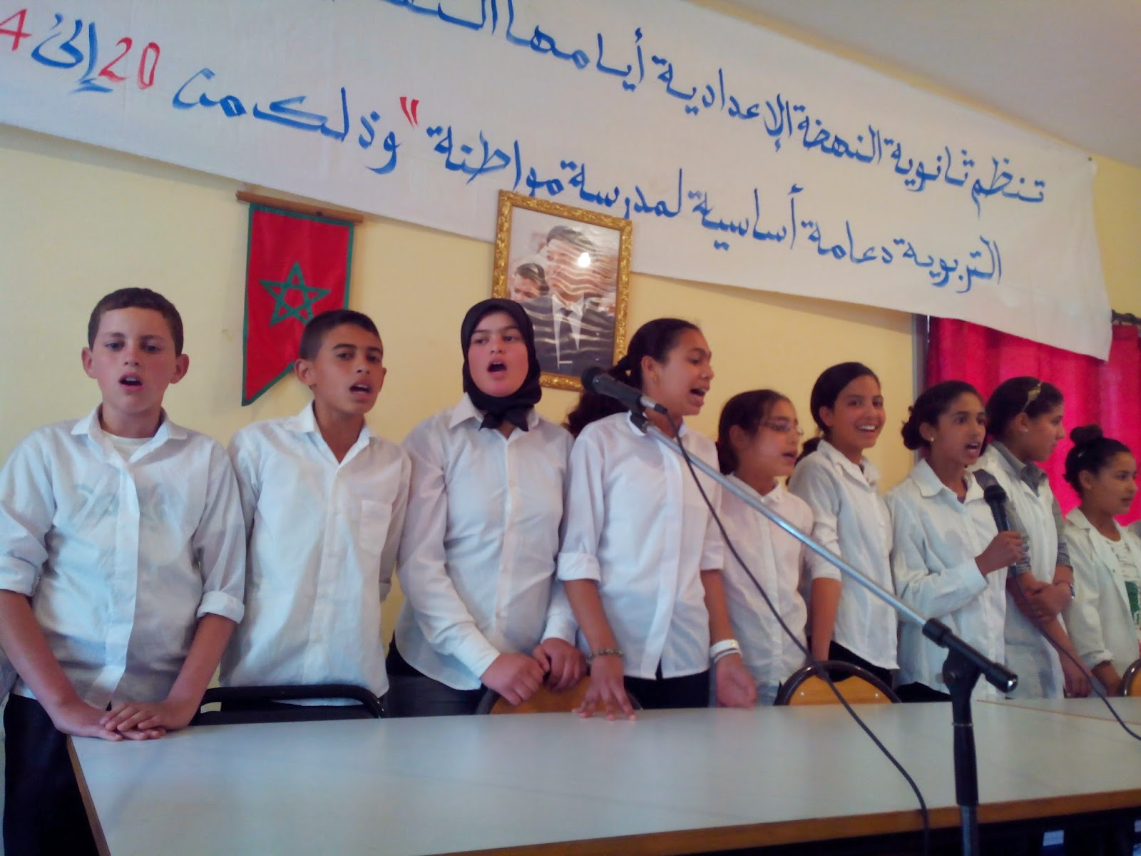 تاونات: الاندية التربوية بالثانوية النهضة الاعدادية بتاونات تنظم اياما ثقافية بفضاء المؤسسة