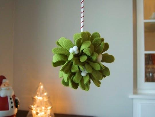 130 homemade christmas ornaments tutorials diy craft for Homemade christmas decorations uk