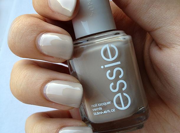 essie sand tropez swatch nail polish