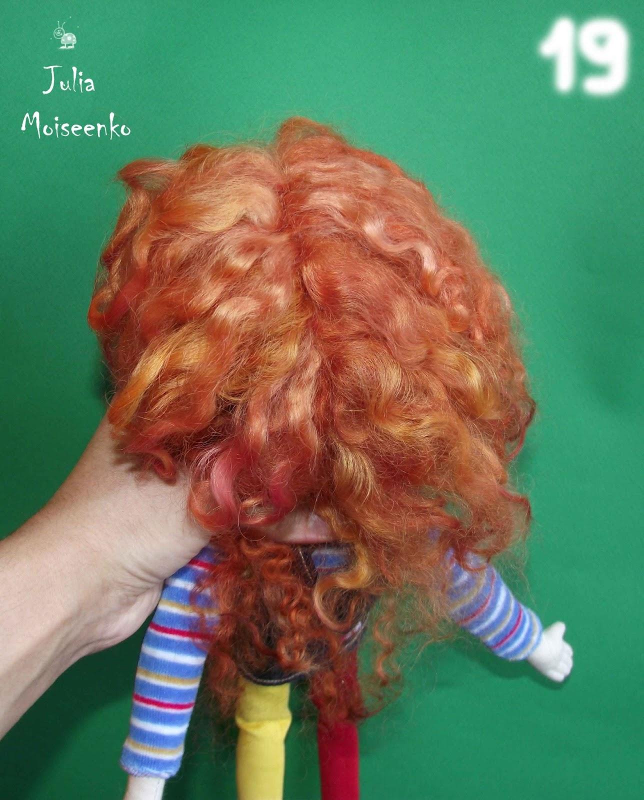 МК. Прически, волосы для кукол Записи в рубрике МК. Прически, волосы 47