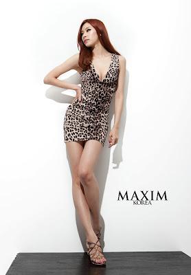 RaNia Sexy Maxim Girls Saem, Riko, Jooyi, Di, Tae, Xia,