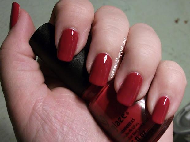 nox nails red hot mama