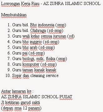 AZ ZUHRA ISLAMIC SCHOOL