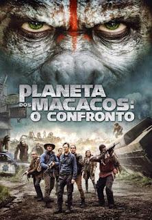 Planeta dos Macacos: O Confronto - BDRip Dual Áudio