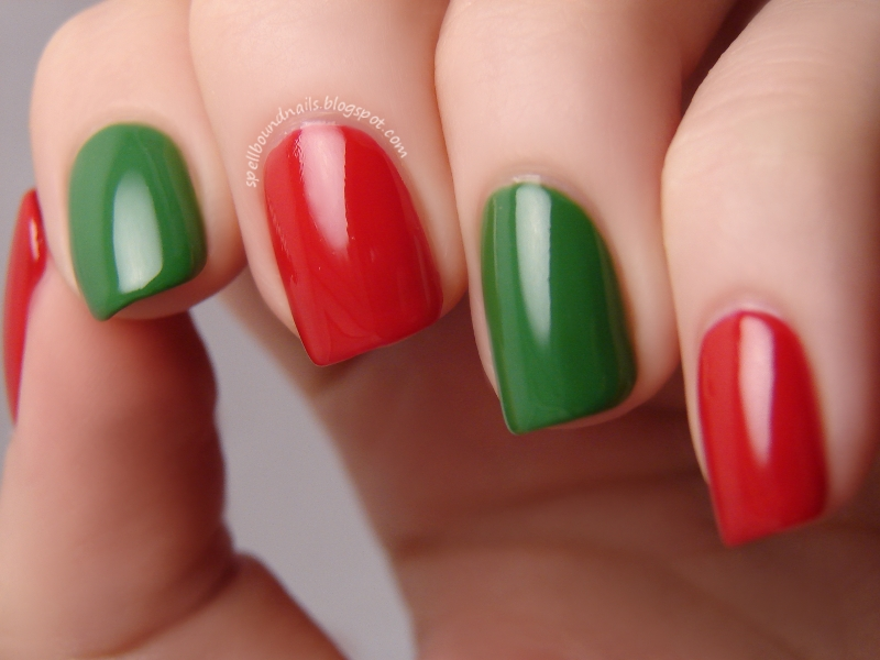 Easy Christmas Nail Designs To Do At Home :
