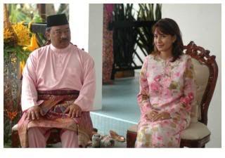 with Cik Puan Julita Aishah (Singaporean/ ex-stewardess)