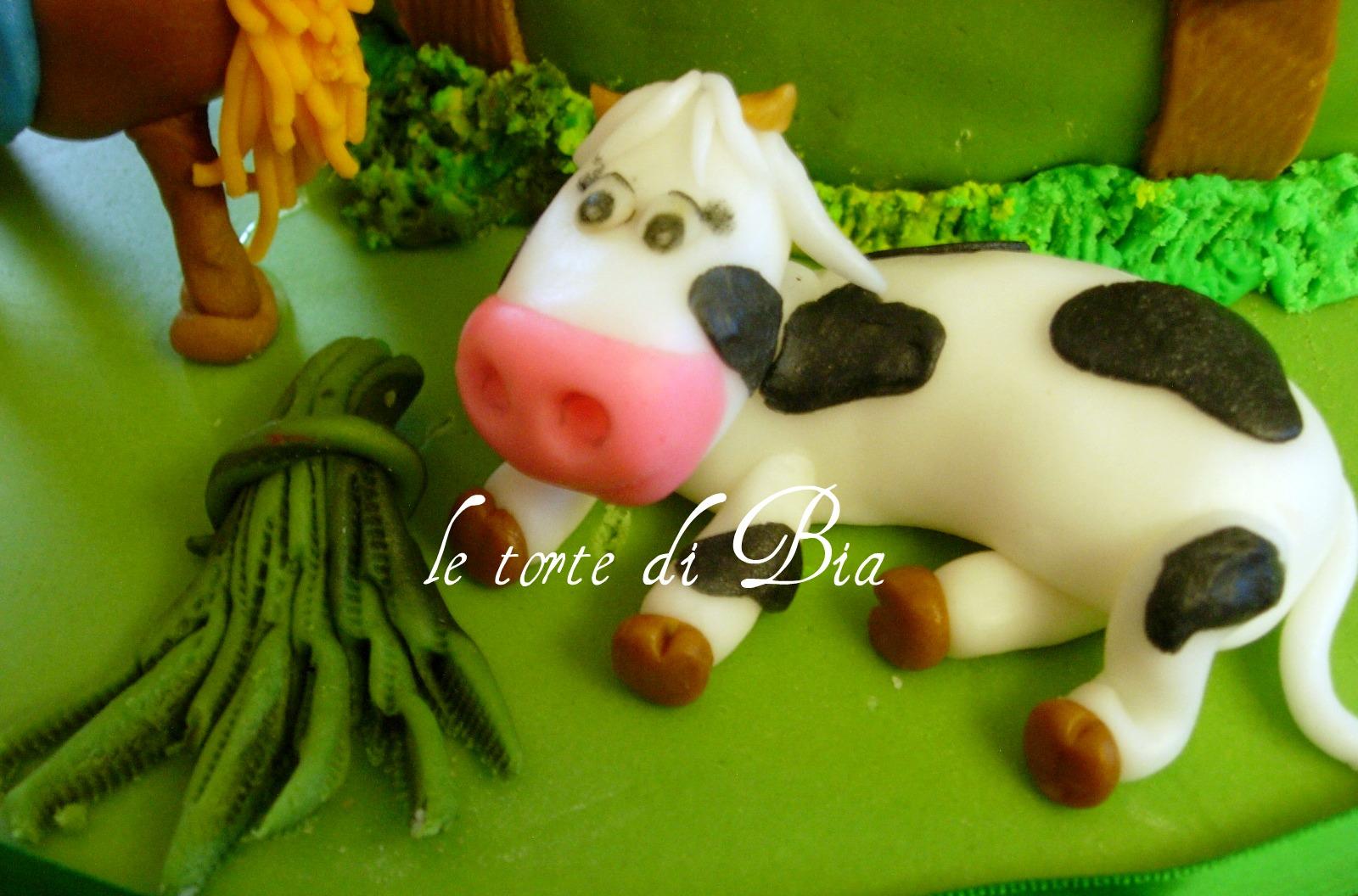 Bia cake design torta fattoria for Piani di fattoria tedesca