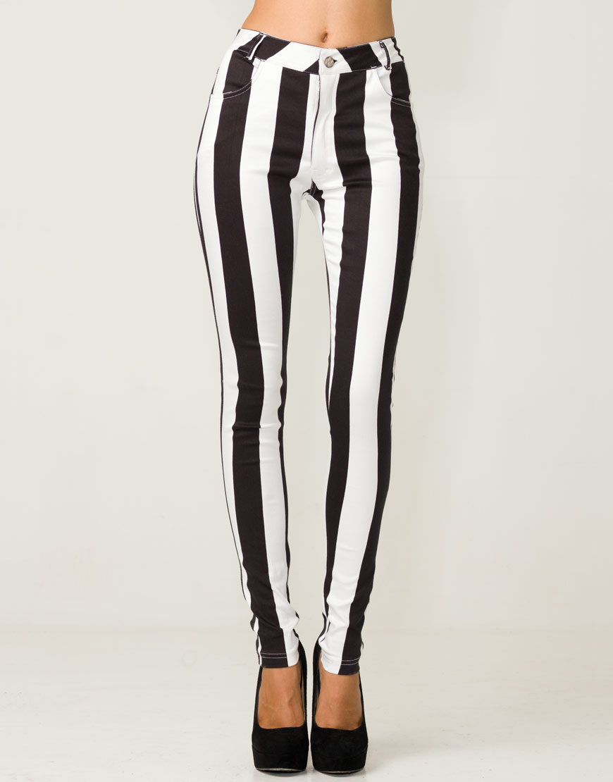 Find black and white striped pants at ShopStyle. Shop the latest collection of black and white striped pants from the most popular stores - all in one.