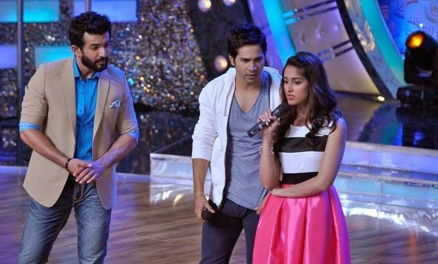 Varun and Ileana promotion their movie on the sets of Lil Masters on Zee