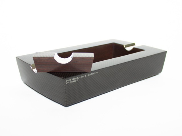 Porsche Design Carbon Fiber Ashtray | Porsche Design Carbon Fiber Ashtray price $700 Porsche Design is known for their luxury lifestyle products with a modern and automotive-inspired twist.