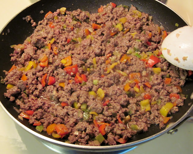 browning ground meat for chili