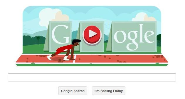 Google Doodle Olympic Hurdles Game