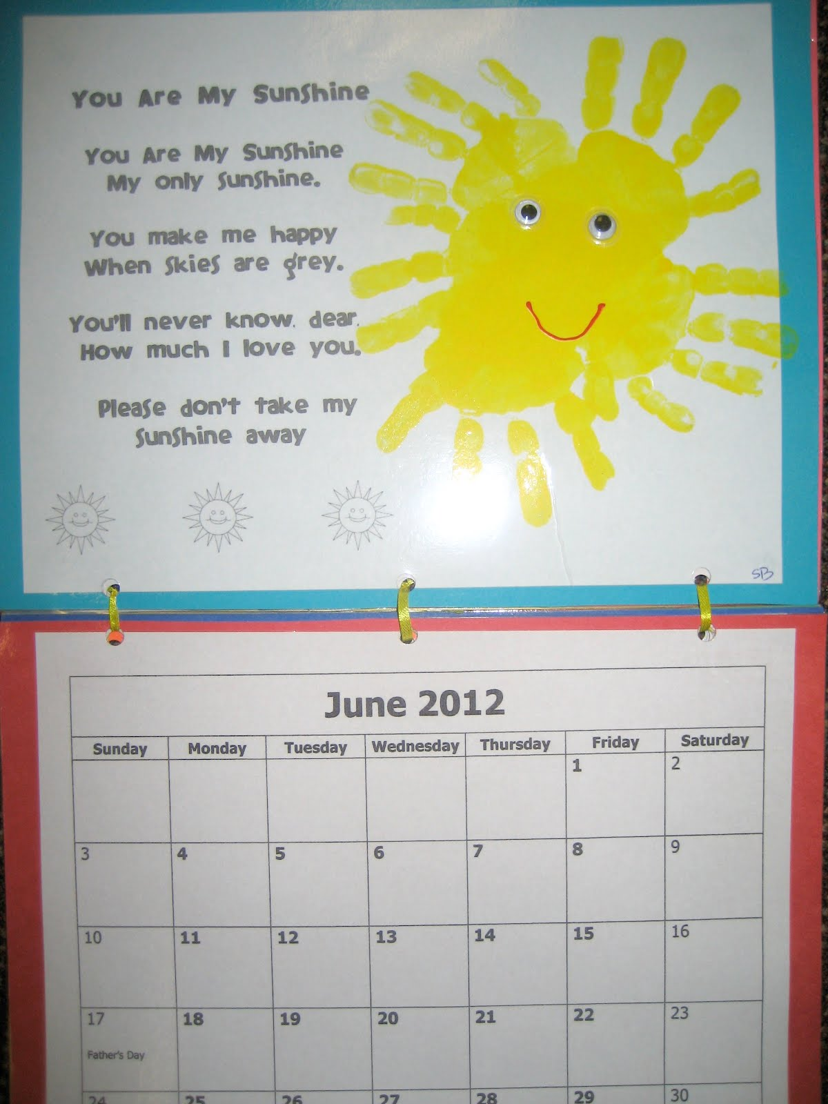 Monthly Calendar Rhyme : Handprint calendar tips monthly poems and cover
