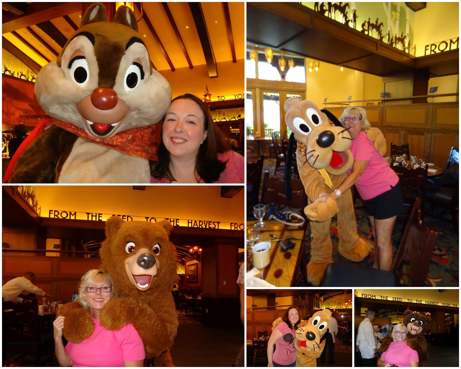 Storyteller Cafe Menu Disneyland