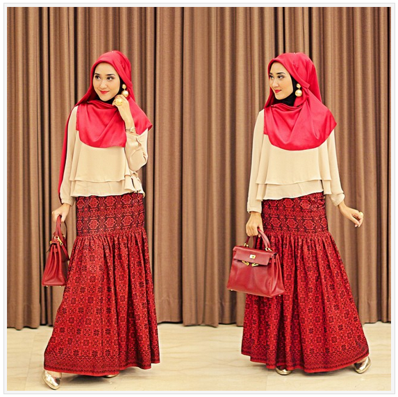 Model Terbaru Baju Muslim Modis Dian Pelangi Trend Model