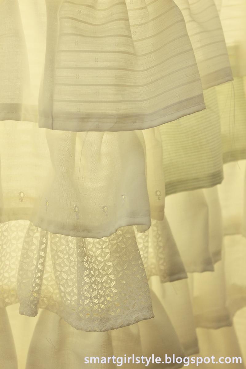 Smartgirlstyle A Ruffle Shower Curtain Amp Its Awesomeness