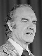 GEORGE McGOVERN - POLITICIAN, WAR HERO (1922-2012)