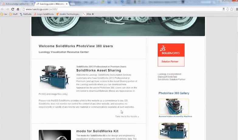 how to add photoview 360 to solidworks