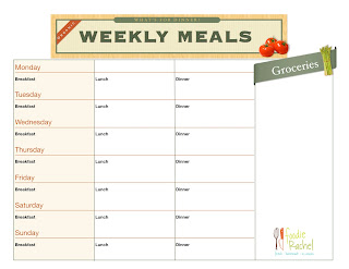 meal planning for big families
