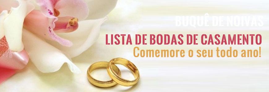 BODAS DE CASAMENTOS
